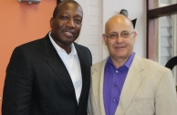 HEARD's New Executive Director, Professor Nana Poku and myself